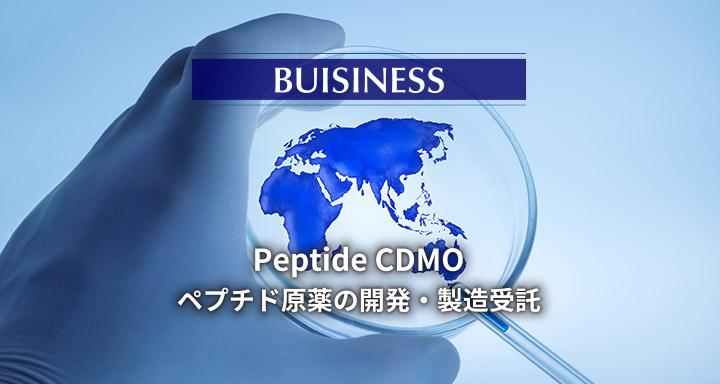 ~BUSINESS~ Peptide CDMO ペプチド原薬の開発・製造受託